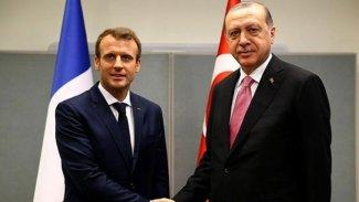 Erdoğan ve Macron Rojava'yı görüştü