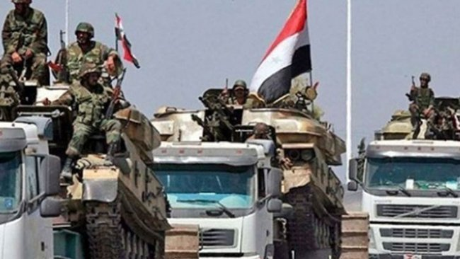 SANA: Suriye ordusu Menbic'e girdi