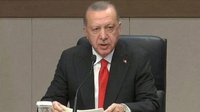 Suriye ve DSG anlaşması sonra Erdoğan'dan açıklama