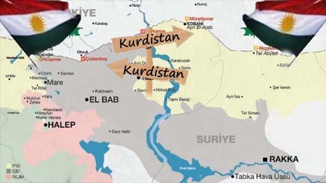 Yeni bir Kürdistan bölgesi için ilk adım!