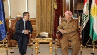 Başkan Barzani, AB elçisi ile görüştü