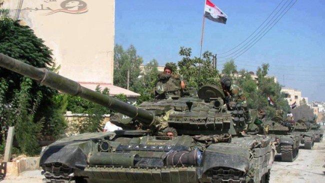 Suriye Devlet televizyonu: Ordu Menbic merkezine girdi