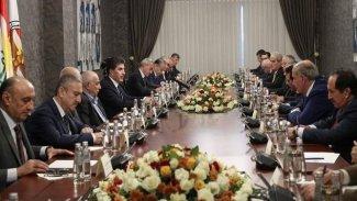 Başkan Neçirvan Barzani, parti liderleriyle bir araya geldi