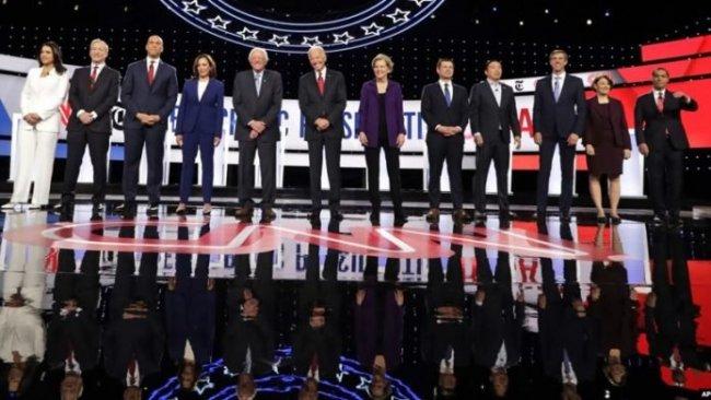 Demokrat adayların münazarasında Trump, Kürtler ve Rojava konuşuldu