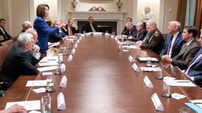 Beyaz Saray'da 'gergin' Rojava toplantısı