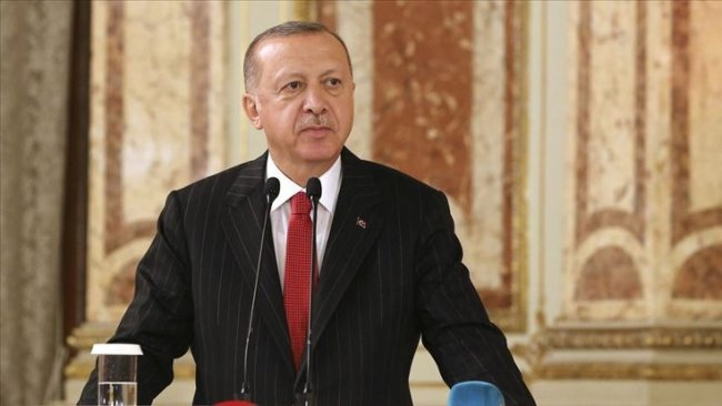 Erdoğan güvenli bölgeyi tarif etti: Derinlik 32, genişlik 444 km
