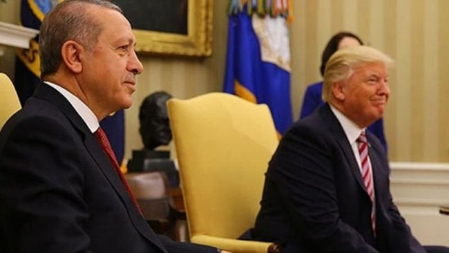 Trump, Erdoğan ile görüştü