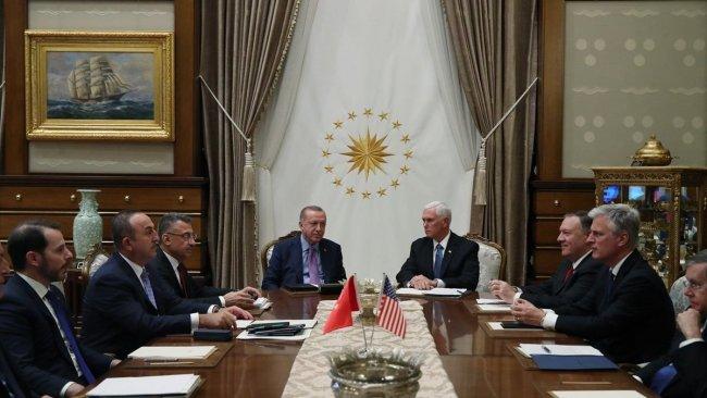 Türkiye-ABD görüşmesinde YPG gerginliği