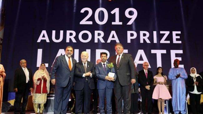Kürt aktivist Dinnayi 'Aurora İnsanlık Ödülü'ne layık görüldü