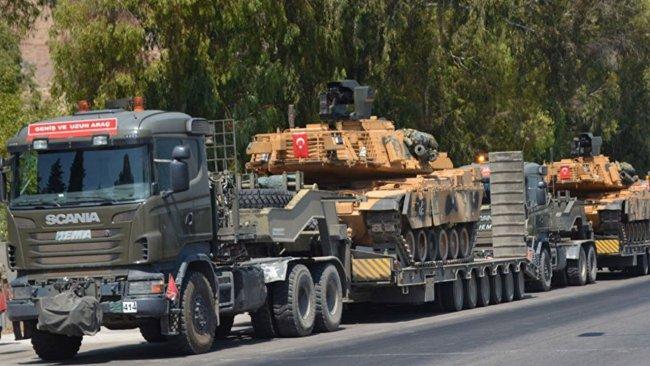 TSK'den Kobane ve Serê Kaniyê sınırına askeri sevkiyat