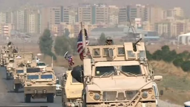 ABD askerleri Kürdistan Bölgesi'ne geçti