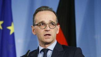 Almanya Dışişleri Bakanı Maas: Kürt birliklerine saldırı meşru değil