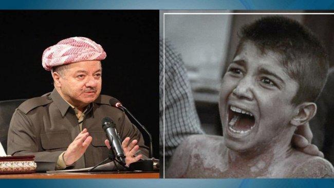 Başkan Barzani'den yaralı çocuğun babasına telefon