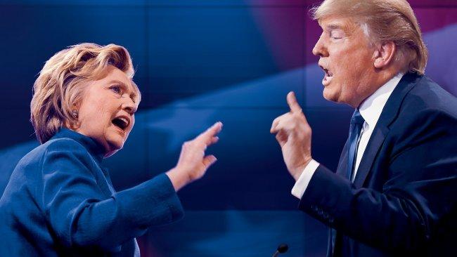 Clinton, Trump'la dalga geçti: Kafamı bozma, seni ararım