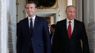 Macron'dan Putin'e 'Rojava' çağrısı
