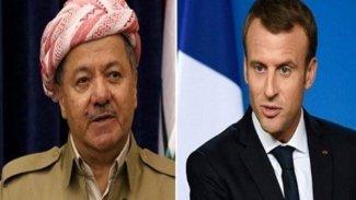 Başkan Barzani'den Macron'a teşekkür
