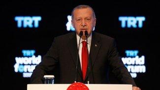 Erdoğan: İran'dan bazı çatlak sesler çıkıyor