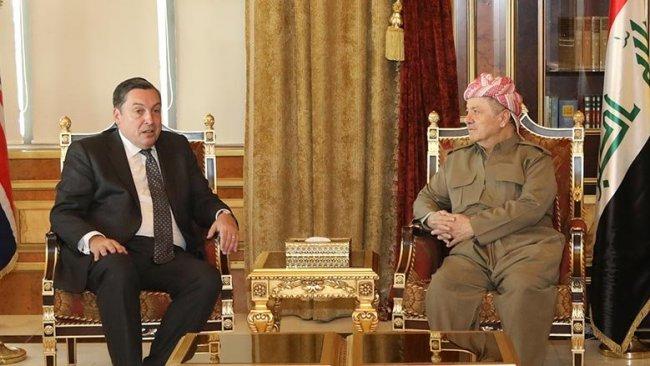 Başkan Barzani ve İngiliz Büyükelçi'den ortak Rojava vurgusu
