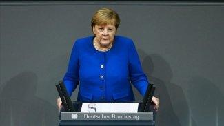 Merkel'den Rojava'da 'Uluslararası güvenli bölge' önerisine destek