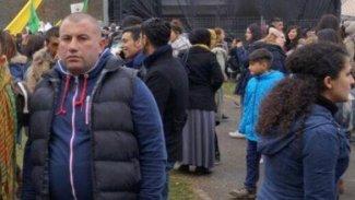 Rojavalı genç, BM binası önünde bedenini ateşe verdi