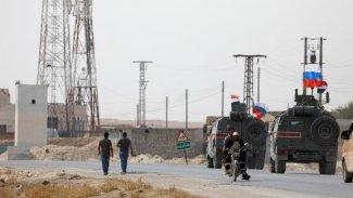 Rus askeri konvoyu Kobanê'de