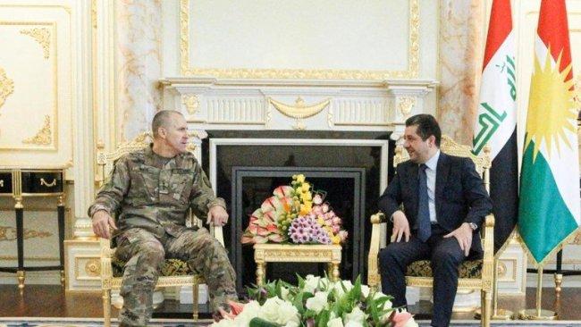 Başbakan, Uluslararası koalisyon komutanıyla görüştü