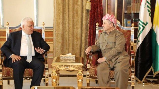 Başkan Barzani ile Feyyaz Irak'taki son durumu görüştü