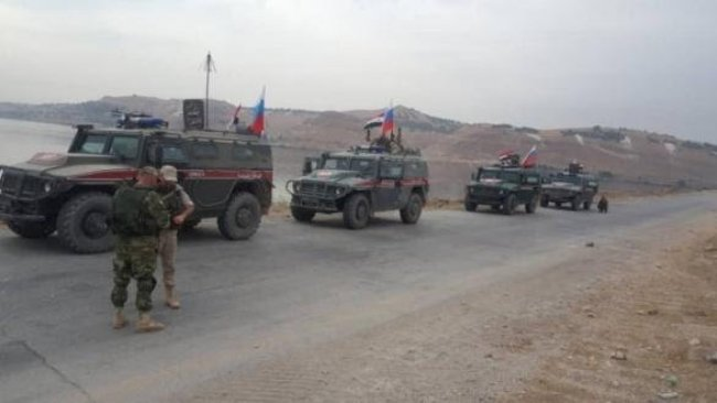DSG ve Rus askeri konvoyu karşılaştı