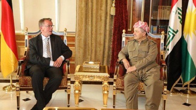 Başkan Barzani: Almanya ve uluslararası toplumun desteğine ihtiyaç var