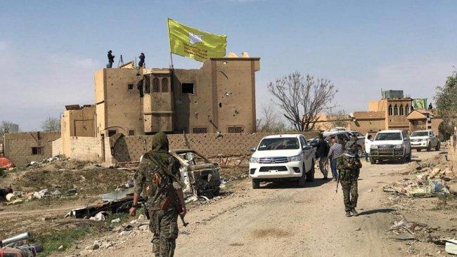 DSG, Ayn İsa'daki askeri üssü ve kontrol noktasını terk etti