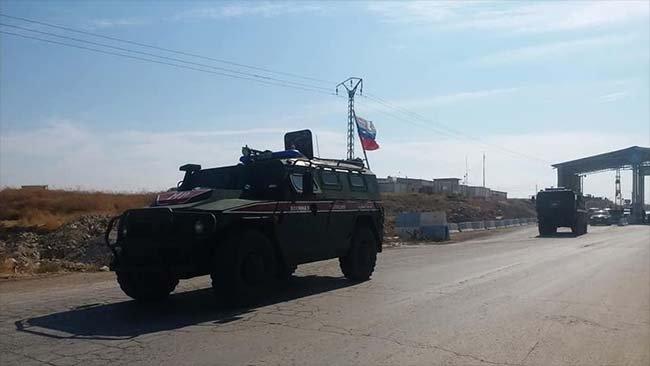 Rusya: Askeri polisimiz Suriye-Türkiye sınırında yeni devriye yaptı