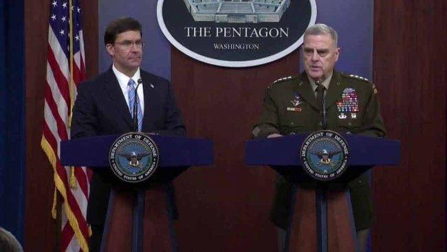 Pentagon'dan Bağdadi operasyonu, DSG ve Türkiye açıklaması