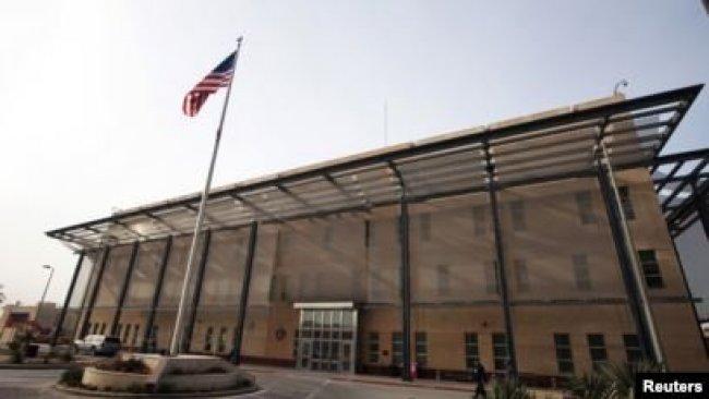 ABD'nin Bağdat Büyükelçiliği yakınında füzeli saldırı
