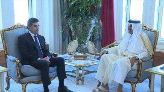 Başkan Neçirvan Barzani ile Katar Emiri önemli konuları görüştü