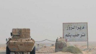 SOHR: Deyr ez Zor'da DSG ile Suriye ordusu arasında şiiddetli çatışma