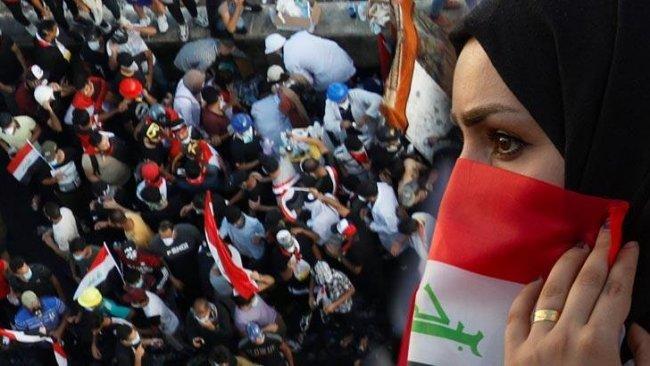Bağdat'ta Yeşil Bölge karıştı: 1 ölü, 70 yaralı