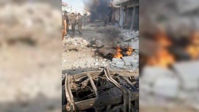 Girê Spî'de patlama: Çok sayıda ölü ve yaralı var