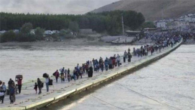 Rojava'dan Kürdistan Bölgesi'ne 14 bin göç