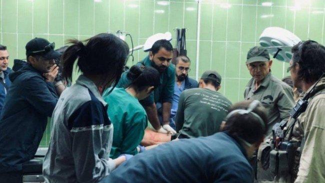 SMO, sınır tanımayan doktorları bombaladı