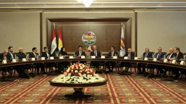 Kürt liderlerden fikir birliği: Kürdistan Bölgesi'nin statüsü korunmalı