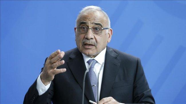 Abdulmehdi: Bazı taraflar göstericileri canlı kalkan olarak kullanıyor