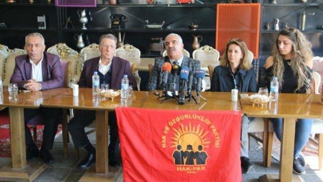 HAK-PAR'dan Kürt birliğine dair 'milli mutabakat' çağrısı