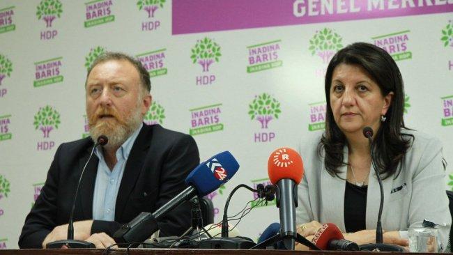 HDP eş başkanları hakkında soruşturma