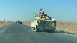 ABD'den DSG kontrolündeki bölgede bir ilk.. Abrams tank!