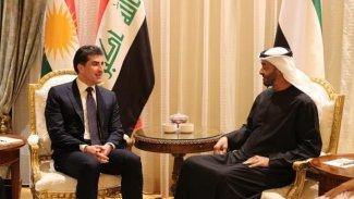 Başkan Neçirvan Barzani, Abu Dabi Veliaht Prensi'yle ile görüştü