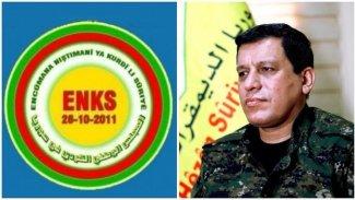 Mazlum Abdi, ENKS heyeti ile Rojava'yı görüştü