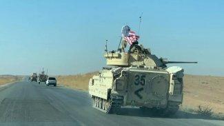 ABD askerleri tank eşliğinde Rojava şehrine geçti