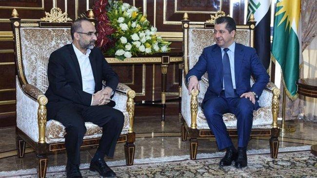 Başbakan Barzani, Hüda Parheyetiyle bir araya geldi