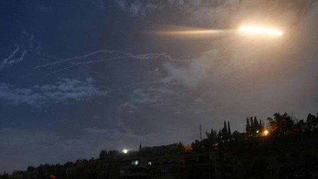 Şam'a füze saldırısı