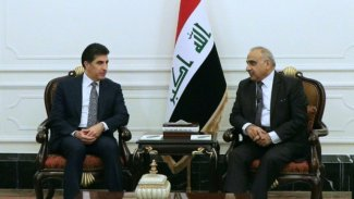 Başkan Barzani, Irak Başbakanı ile görüştü